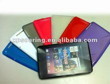TPU case cover for google nexus 7 inch tablet