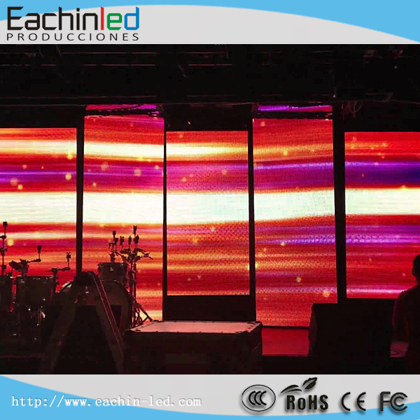 Visual 6mm HD Indoor LED Display Can Be Hanging,Stacking,Curve Install