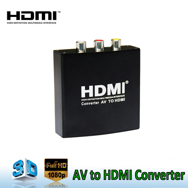 Mini AV to HDMI Video Converter <strong>1080p</strong> HD AV converter