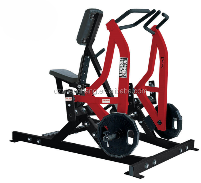 Promotional excercise fitness equipment, gym equipment fitness,station gym equipment Iso-Lateral Rowing