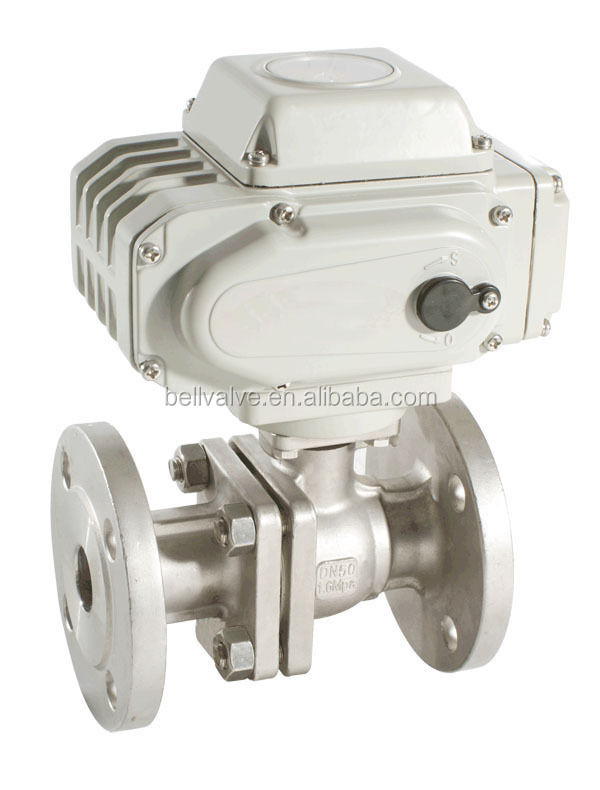 electric waste valve ball valve
