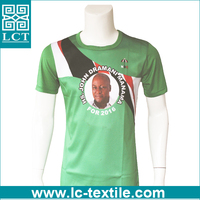 supply heat transfer print cool micro polyester dry mesh shirts for election