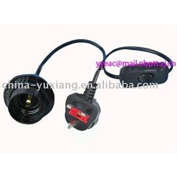 Salt Lamp Electrical Cord : Uk Salt Lamp Power Cord - Buy Cord Set,Lamp Cord,Power Cord Product on Alibaba.com
