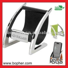 plastic folding mobile phone holder for desktop