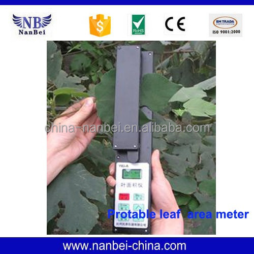 Field work easy to carry Leaf area meter