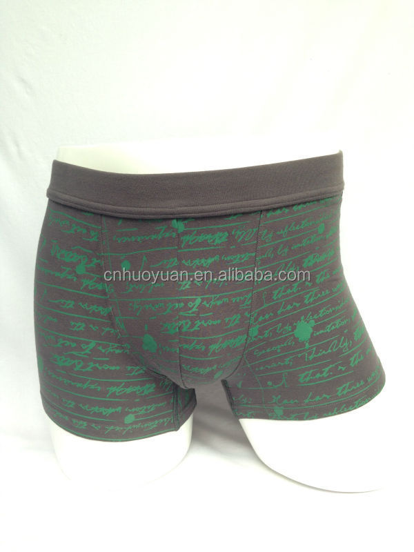 Gay Underwear Low Waist boxer size M -XL christmas gift