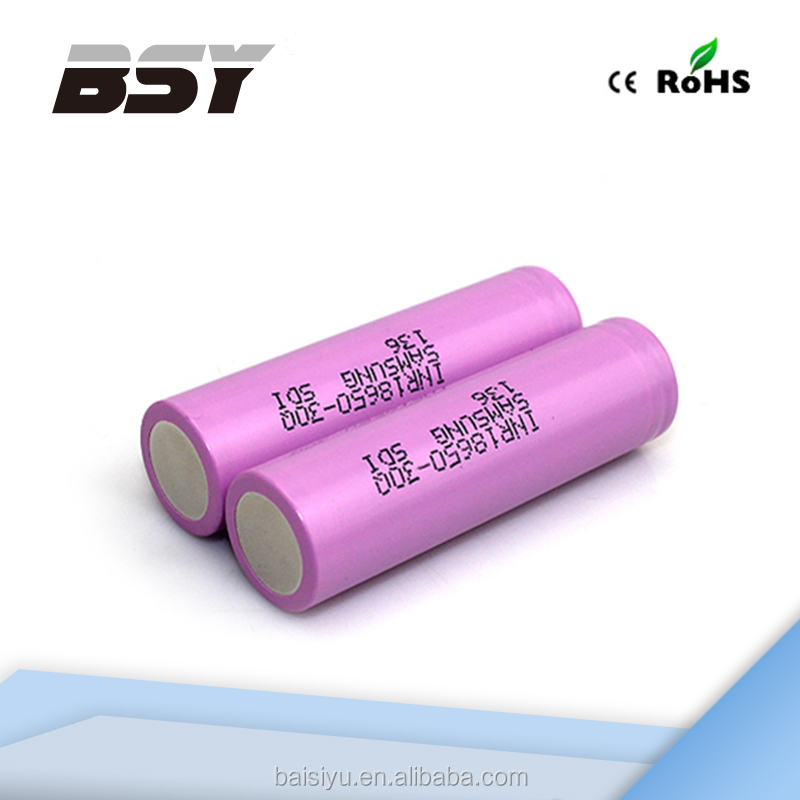 (cheaper price)18650 rechargeable 3.6V 30Q samsung INR18650-30Q 15A 3000mah