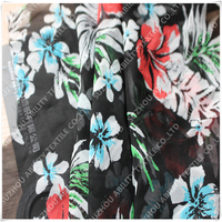 Floral Printed Polyester Silk Chiffon Georgette Fabric