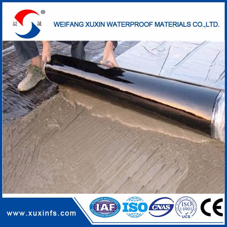 China factory direct sales self adhesive bitumen roll 10m length