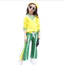 Kids Clothing Sets Girls Sets Spring Autumn Baby Girls Clothes Jacket Floral Sports 2Pcs Sets