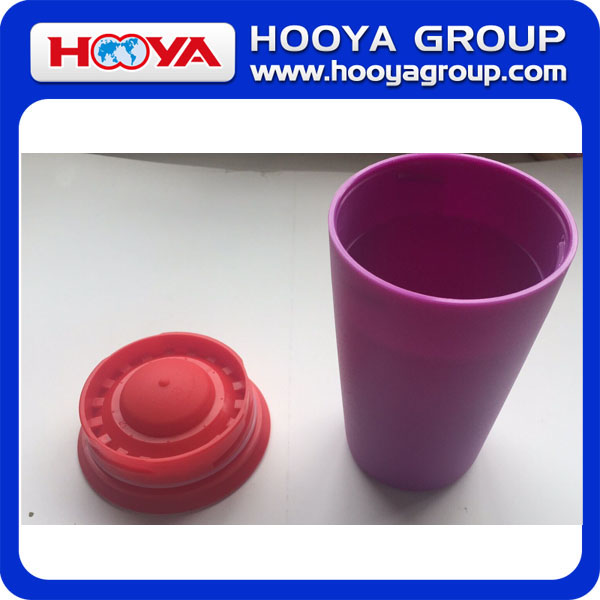Kid spill free plastic drinking cup 360 degree Drinking Edge cup novelty plastic drinking cups