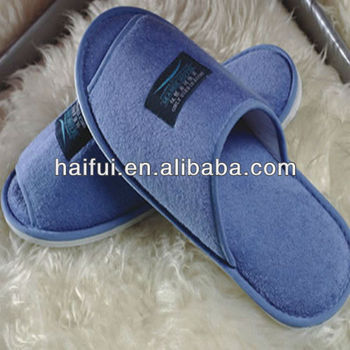 disposable terry hotel slipper