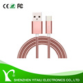 Full Metal 3.1 USB Type-C Male Data Faster Charger Cable, Alloy Shell at Both Connector