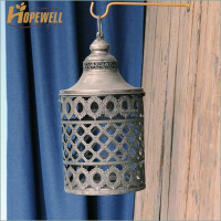 metal decorative lantern halloween , maroccan paraffin lantern