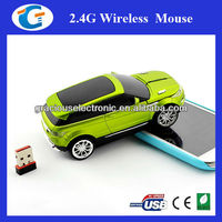 2.4G wireless decorative car computer mouse for promo