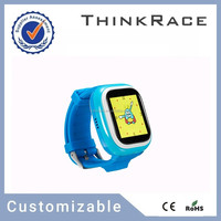 Hot wrist watch gps tracking device for kids with cell tracker software