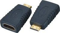 Gold Plated Mini HDMI to HDMI Male to Female Adapter v2.0