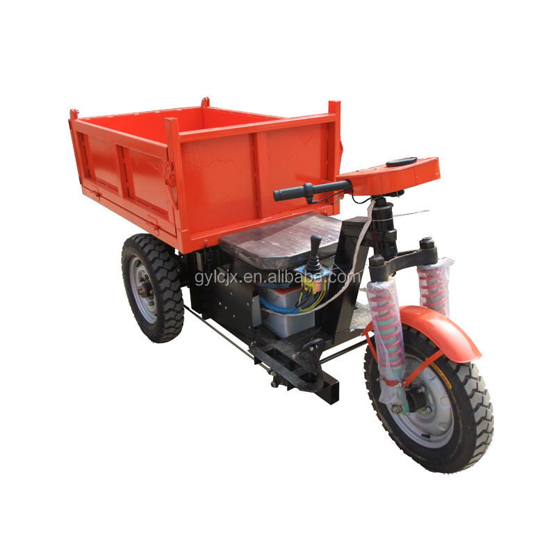 closed electric cargo carrier tricycle,3 wheel electric tricycle for miner