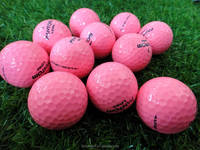 3 Layers Golf Ball Surlyn, Pink Golf Ball Tournament by Fantom---338 Seamless Dimples