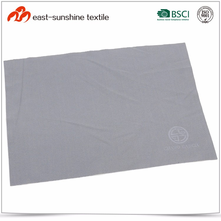 Logo Printed Lens Cleaning Microfiber Cloth