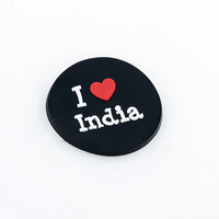 Creative black i heart India Circle Christmas refrigerator magnet
