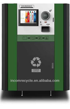 New RVM model-plastic recycling machine for cash back