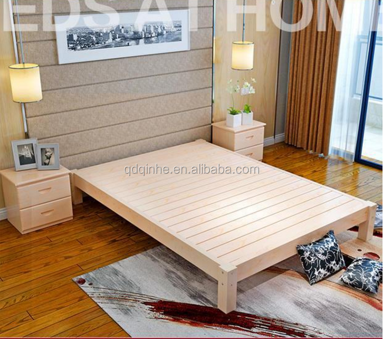 japanese korea style solid wood tatami pine bed wooden bed mats tatami