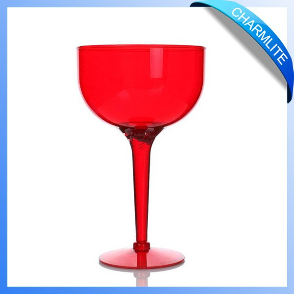 1400ml colored plastic decorative wine glass unbreakable plastic wine glass plastic wine glasses (MC002)