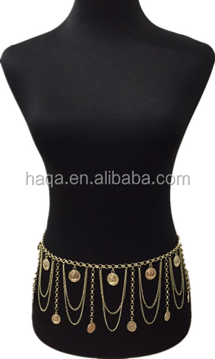 Hot sale and New Design Body Chain, Bikini Sexy Waist Charms or Chains