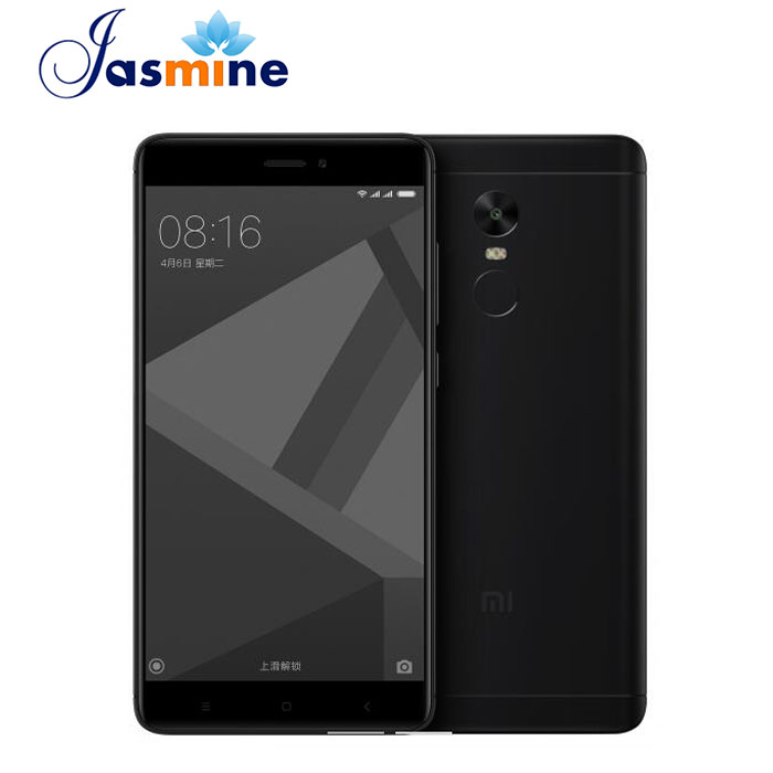 Xiaomi Redmi Note 4 Black Smartphone 3GB RAM 32GB ROM Snapdragon 625 Octa Core <strong>Android</strong> 4g Mobile <strong>Phone</strong>