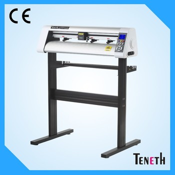 Sticker Vinyl Plotter Cutter , Bluetooth Control Cut Plotters 32 bit ARM7 CPU 4MB