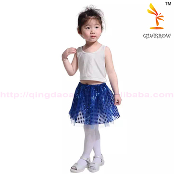 2016 China Manufacturer Cotton Tulle Girl Party Girls Tutu Dress With Sequin