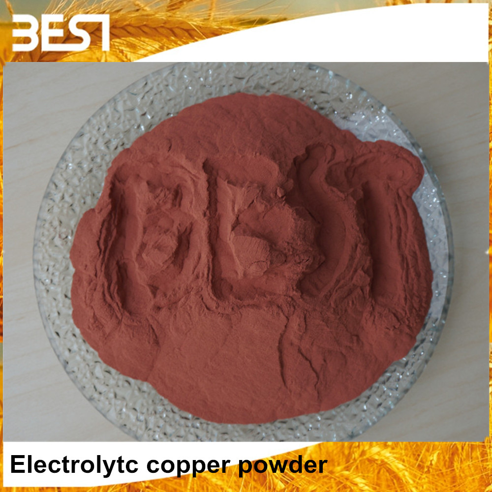 Best05E Ultrafine Water / Electrolytic Atomized Copper Powder