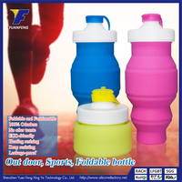 Wholesale silicon running sports water bottle with custom logo