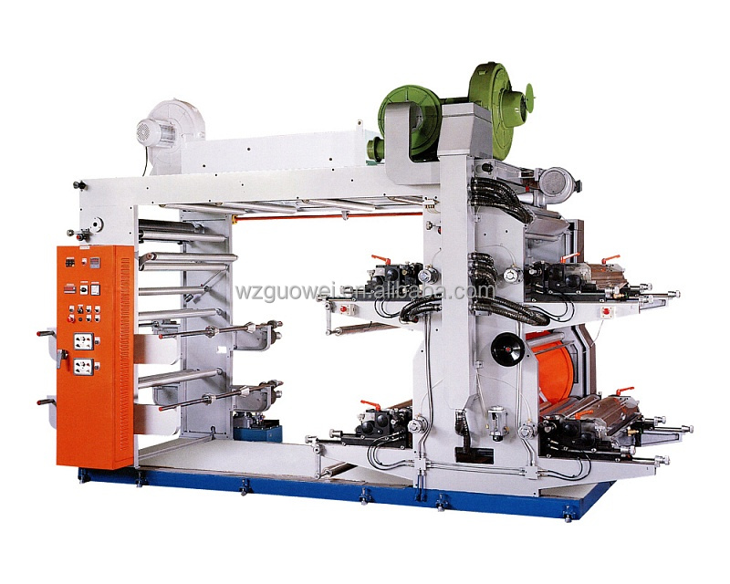 GW-B High Speed Bag Flexographic Printing Machine Manufacturer