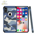 Free sample customize design army camouflage printed skidproof case for iphone x tpu cover-