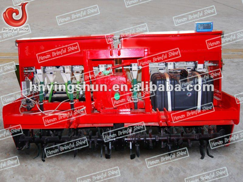 Seed planter and fertilizer drill