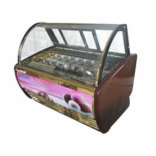 Mini Ice cream Freezer/Countertop Display Freezer