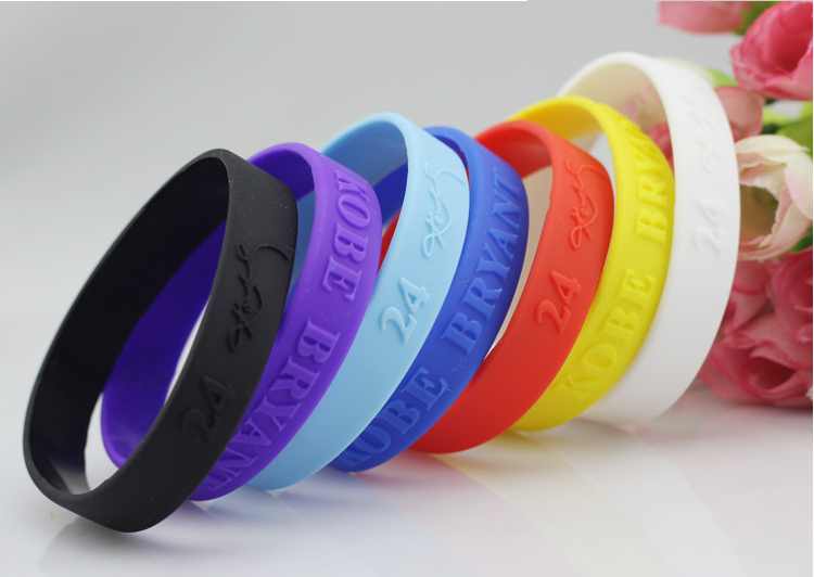 china supplier silicone wrist bands watches for men