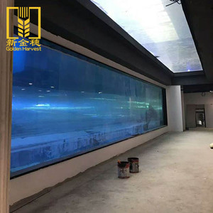 Top quality seamless bonded tunnel clear acrylic aquarium sheet for wholesale