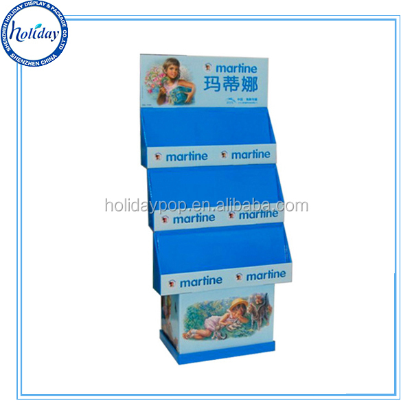 Manufacturer POP Cardboard Advertising Retail Display <strong>Stand</strong>,Removable Header Cardboard Retail Displays For Chainstores