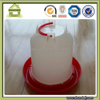 SDCD01 Plastic Chicken Drinker Chicken Waterer Poultry Drinker Poultry Waterer