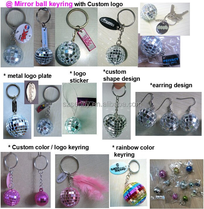Special Design Colorful Custom Rubber Keyring