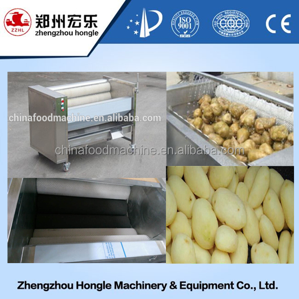 commercial potato washer peeler machine price