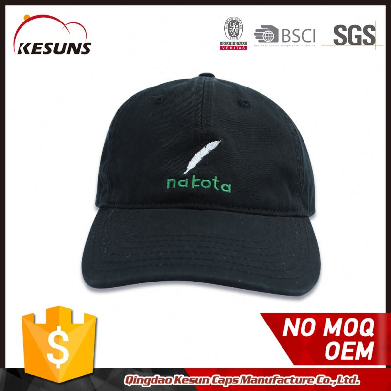 Promotional Blank Cap For Sublimation Embroidered Team Baseball Cap