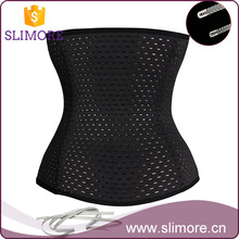 Mesh waist trainer belt with skeletons for women