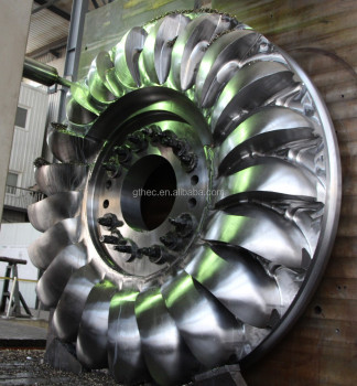 Hydro water turbine pelton wheel