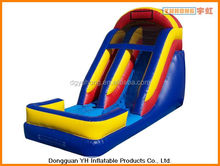 residential small inflatable dry slide for kids
