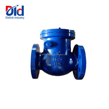 3 Inch GG25 10K Flanged Stainess Iron Swing Check Valve Manufacturers