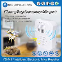 Factory Price Ultrasonic Electronic Repeller, 3 in 1 mosquito repellent and insect control machine